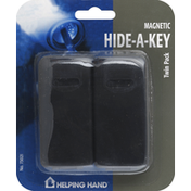 Helping Hand Hide-A-Key, Magnetic, Twin Pack