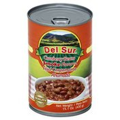 Del Sur Cranberry Beans, Smoke Flavored, Can