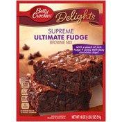 Betty Crocker Delights Supreme Ultimate Fudge Brownie Mix