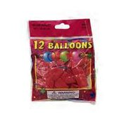 "Winntex 12"" Round Cherry Balloons"