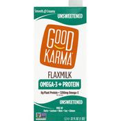 Good Karma Flaxmilk, Unsweetened