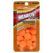 Hearos Ear Plugs, NRR 32