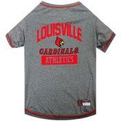 Pets First Large NCAA Louisville Cardinals Dog T-Shirt
