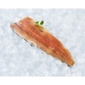 3-5 Ounce Natural Clear Cut Skin-On Trout Fillet