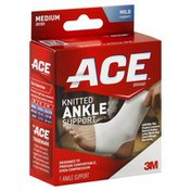 Ace Bakery Ankle Support, Knitted, Medium, Mild Support