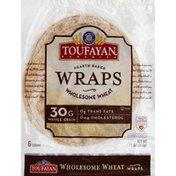 Toufayan Wraps, Wholesome Wheat