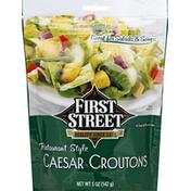 First Street Caesar Croutons, Restaurant Style