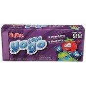 Hy-Vee Yo Tube Go Strawberry & Blueberry Yogurt Pack
