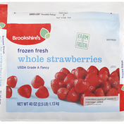 Brookshire's Strawberries, Frozen Fresh, Whole