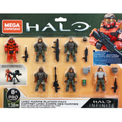 Mega Construx UNSC Marine Platoon Pack, Pro Builders, Infinite, 8+
