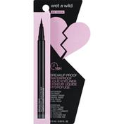 wet n wild Liquid Eyeliner, Waterproof, Ultra Black 1111509
