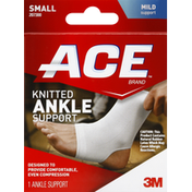 Ace Ankle Support, Knitted, Small, Mild Support