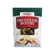Meijer Enriched Macaroni Product, Enriched Spinach Product And Enriched Tomato Product, Tri-color Rotini