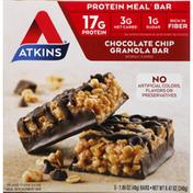 Atkins Protein Meal Bar, Chocolate Chip Granola