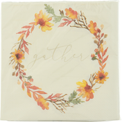 CR Gibson Napkin, Lunch, Gather, 3-Ply
