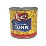 Lieber's Vacuum Packed Golden Corn