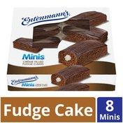 Entenmann's Minis Crème Filled Fudge Cakes