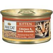 NUTRO Max Cat Kitten Chicken & Liver Formula Cat Food