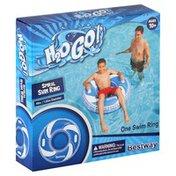 Bestway Swim Ring, Spiral, 40 Inches