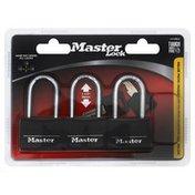 Master Lock Padlock & Key, Blister Pack