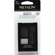 Revlon Brow Kit, Soft Black 101