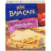 Baja Cafe White Chicken & 3 Cheese Quesadillas
