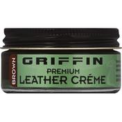 Griffin Leather Creme, Premium, Black