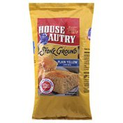 House Autry Corn Meal, Plain Yellow, Stone Ground