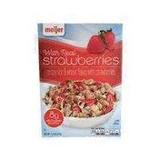 Meijer crispy rice & wheat flakes with strawberries