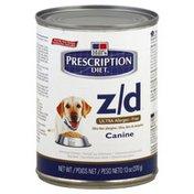 Prescription Diet Dog Nutrition, Therapeutic, Original Flavor, Skin/Food Sensitivities