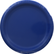 Creative Converting Plates, Cobalt