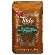 Tilda Rice, Wholegrain Brown Basmati & Quinoa