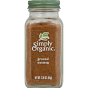 Simply Organic Nutmeg, Ground