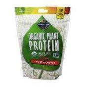 Garden of Life Organic Plant Protein Powder, Smooth Coffee