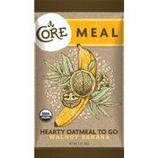 Core Meal Hearty Oatmeal To Go, Walnut Banana