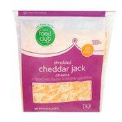 Food Club Cheddar Jack Cheddar & Monterey Jack Shredded Cheese