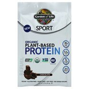 Garden of Life Plant-Based Protein, Organic, Chocolate