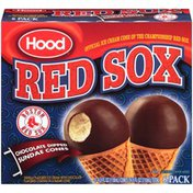 Hood Red Sox Chocolate Dipped Sundae Cones