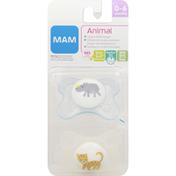 MAM Pacifier, Animal, 0-6 months