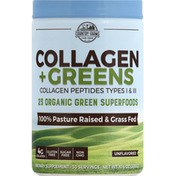 Country Farms Collagen + Greens, Unflavored