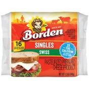 Borden Cheese, Swiss, Singles