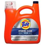 Tide Hygienic Clean Heavy 10X Duty Liquid Laundry Detergent, Original Scent