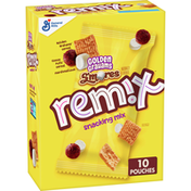 Golden Grahams Remix, Snacking Mix, Multipack, 10 Pouches