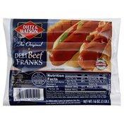 Dietz & Watson Beef Franks, Deli, The Original