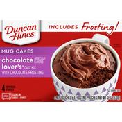 Duncan Hines Mug Cakes, Chocolate Lover's