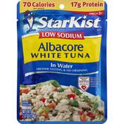 StarKist Tuna, Low Sodium, Albacore White, in Water