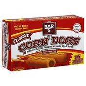 Bar-S Corn Dogs, Classic, Jumbo, 3 Pound Family Pack