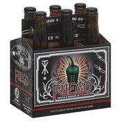 Twisted X Brewing Beer, Fuego, 6 Pack, Bottle, Multipack
