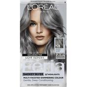 Feria Permanent Haircolour Gel, Smokey Silver S1