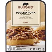 Big Shoulders Smokehouse Pulled Pork, In BBQ Sauce, Gluten Free